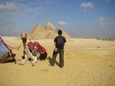 Visita a las pirámides Egipcias
