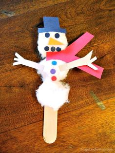 I wanted to do something fun with the kids this afternoon, so I put together this Snowman craft. I had seen something similar to this as a free craft event and thought,I bet I can I figure out h...