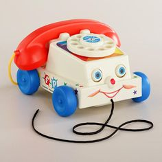 One of my favorite discoveries at WorldMarket.com: Fisher-Price Chatter Telephone