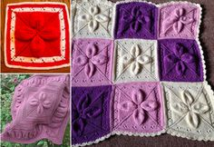 Ideas For Knitting Blanket Spots           There are a few months left for the winter to start, ...