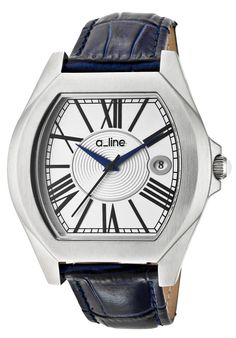 Price:$129.00 #watches a_line 80008-02-BU, a_line's Adore collection follows a_lines philosophy of bringing women the same quality and luxury of watches that men have been getting for years at a value. To that end a_line allows women to wear a large timeless watch that has a feminine touch. Your husband will be jealous.