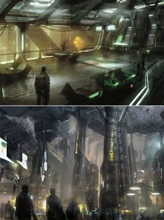 Mass Effect' Concept Art Book Shows Us a Galaxy That's Worth fighting for...