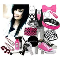emo girls outfits | Be tube | Emo girl clothing
