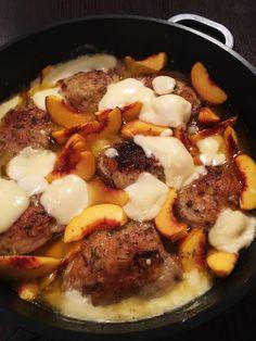 rosmariini-persikka-mozzarellakana Mozzarella, Beef, Food, Meat, Essen, Meals, Yemek, Eten, Steak