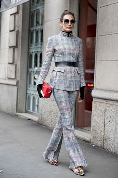 The Best Street Style At Milan Fashion Week AW18
