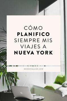 Cómo planifico siempre mis viajes a Nueva York. #nuevayork #newyork #nuevayorkturismo Time Travel, Travel Tips, Empire State Of Mind, New York City Travel, Travel Around The World, Tourism, Nyc, Plane, Traveling