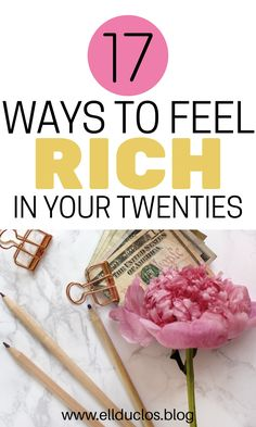 How to feel rich in