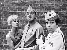 "Carol Burnett & Jim Nabors on ""Gomer Pyle"" Frances Bavier, Jim Nabors, Barney Fife, Don Knotts, Comedy Tv Shows, The Andy Griffith Show, Carol Burnett, Old Tv, Classic Tv"