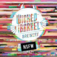 Label design for Wicked Barrel Brewery