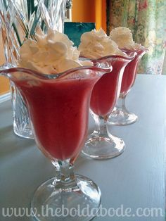 Watermelon Smoothies #smoothies, #drinks, #health