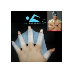 swim fins Makes it easier to swim without using your legs.