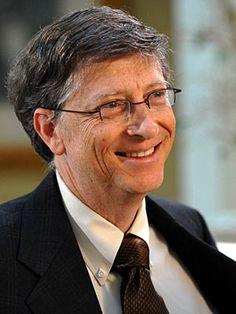 Bill Gates - successful