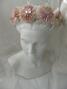 Wire and Paper Crown handmade by di4art