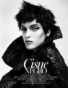 Publication:Vogue Spain November 2012  Model:Mirte Maas  Photographer:Jason Kibbler