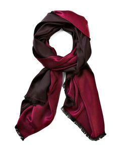 Red Reversible Pashmina ScarfRed Reversible Pashmina Scarf, Red/Garnet/Black