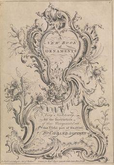 Rococo Cartouche | Filigree, Swirls & Curls