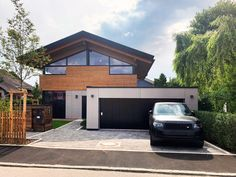 Haus Haching Bude, Garage Doors, Sweet Home, Exterior, Cool Stuff, Architecture, Outdoor Decor, Home Decor, House Ideas