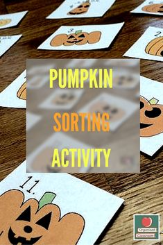 I was feeling pretty inspired today and decided to whip up a fun sorting activity freebie hopefully you can use in your classroom to celebrate the season! Teacher Freebies, Classroom Freebies, Classroom Activities, Classroom Organization, Classroom Ideas, School Classroom, Seasonal Classrooms, Fun Fall Activities, Sorting Activities