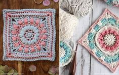 Hello there, beautiful people! Are you wondering how to welcome the new season? We have an answer! Try these free crochet patterns for Colorful Flowers Granny Squares! #freecrochetpattern #grannysquare #crochet #crochetpattern #afghanblock Crochet Squares, Crochet Granny, Granny Squares, Free Crochet, Popcorn Stitch, Pattern Blocks, Crochet Patterns, Crochet Ideas, Colorful Flowers