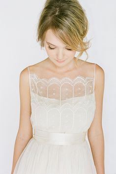 Dress By / http://saja.com, light and elegant! Check out juul'sweddingsinspiration for more gorgeous pins! :) XO Julie