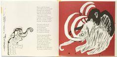 Wiktor Woroszylski, A lot of laughs, a bit of sadness, this is the story of a little mammoth / Dużo śmiechu trochę smutku to historia o mamutku, illustrated by Jozef Wilkon