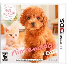 Nintendogs   Cats:  Toy Poodle and New Friends --- http://www.amazon.com/Nintendogs-Cats-Poodle-Friends-Nintendo-3DS/dp/B002I08ZTI/?tag=lovyoupet0e-20