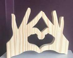 Hände der Liebe, von Hand gefertigt-Hände mit Herz, Geschenk,