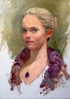 Portrait of a Dancer oil 18 x 14.jpg (1500×2121)