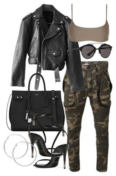 """Untitled #21158"" by florencia95 ❤ liked on Polyvore featuring Faith Connexion, Jean-Paul Gaultier, Matteau, Yves Saint Laurent, Tom Ford, Christian Dior and Melissa Odabash"