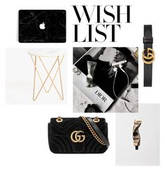 """#PolyPresents: Wish List"" by fashiondesignadept on Polyvore featuring moda, Aesop, Gucci, Zara Home, contestentry i polyPresents"