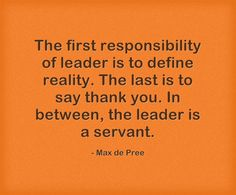 What are the responsibilities of a leader? http://www.power2transform.com/responsibilities-leader/