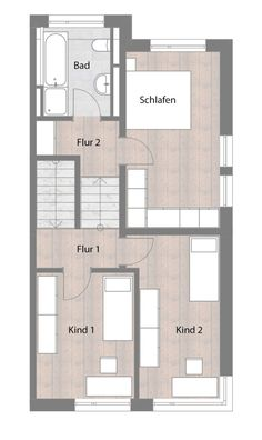 doppelhaush lfte typ b erdgeschoss mit terrasse 73 60 m hausideen pinterest haus. Black Bedroom Furniture Sets. Home Design Ideas