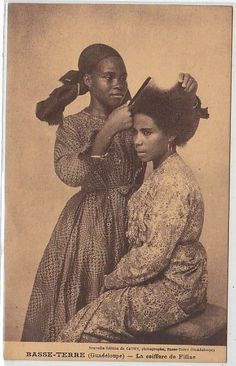 Hair has such power over the females, you can be certain it's spiritual so spiritual among black girls, it changes our attitudes and mood. Black Hair History, Black History Facts, African Culture, African American History, Photo Vintage, Vintage Photos, Black Girls Rock, Black Girl Magic, West Indies