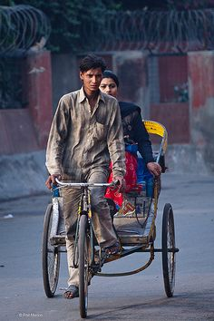 rickshaw wallah | Delhi, India