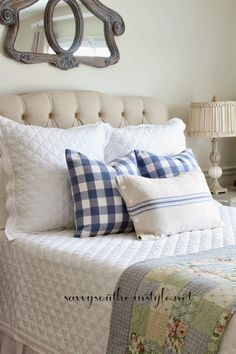 Savvy Southern Style: Spring in the French Style Guest Room