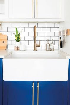 Discover these before and after images of tiny kitchens to inspire you to redecorate or renovate your own using small space solutions. For more decorating ideas, head to Domino.
