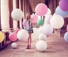 Balloons...