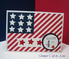 Stampin' Cafe by Lana: Happy 4th!