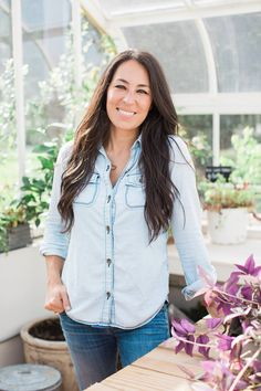 Joanna Gaines of HGTV Fixer Upper ~ Admire her creativity, strength, devotion, and humor.