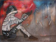 Where mysteries unfold 900x1100 @ Nicolette Geldenhuys Art (FB)
