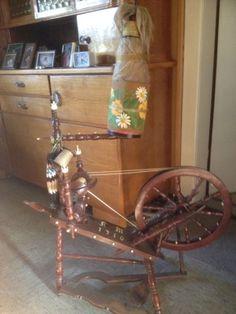 Antikes Spinnrad in Niedersachsen - Lindhorst | Kunst und Antiquitäten gebraucht kaufen | eBay Kleinanzeigen