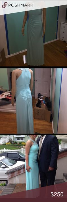 Beautiful Prom Dress Good condition worn once, teal Dresses Prom