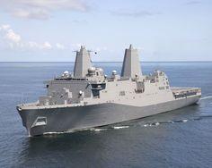 USS Green Bay, LPD-20, Amphibious transport dock, San Antonio class. Commissioned Jan 24, 2006.