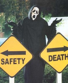 Image de death, safety, and scream