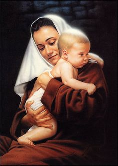 My Son, My Savior by Simon Dewey can be purchased at great savings at Christ-Centered Art. Blessed Mother Mary, Blessed Virgin Mary, Simon Dewey, Image Jesus, Religion, Pictures Of Christ, Lds Art, Mama Mary, Mary And Jesus