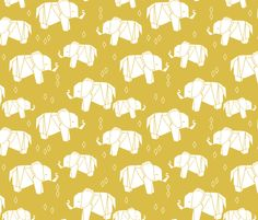 ©  Copyright  Andrea Lauren -  You are permitted to sell items you make with this fabric, but request you credit Andrea Lauren as the designer. Coordinates:  Solids -- Warm, Solids - Cool, Dots  View the entire Elephant Parade Collection