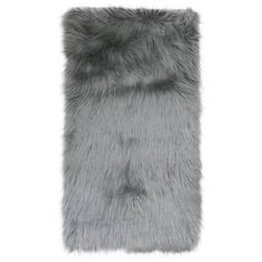 Keller Faux Mongolian Fur Rug From Thro By Marlo Lorenz In Silver – fur Rugs Fur Pillow, Fur Throw Pillows, Dusty Rose Color, Fur Rug, Colorful Rugs, Faux Fur, Image, Basement