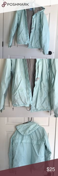 Burton women's snowboard jacket Some stains on jacket but great for winter activities! Burton Jackets & Coats