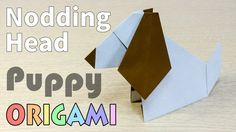 Origami Nodding Puppy
