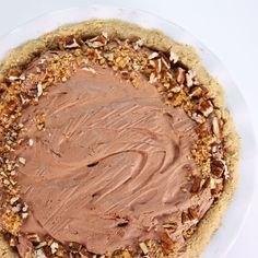 the chew   Recipe    Carla Hall's Turtle Pie